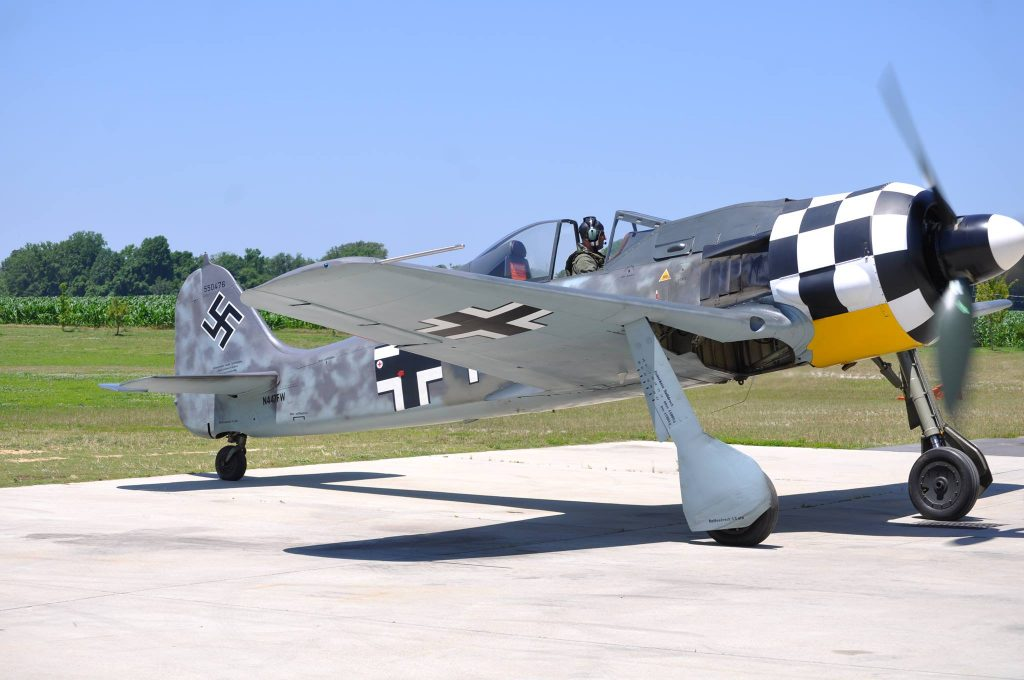 Focke Wulf FW-190A8, sold via Platinum Fighter Sales to an undisclosed buyer in Oregon. (Image Credit: MAM / PFS)