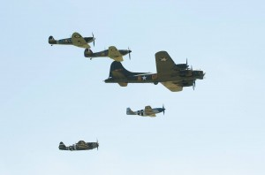 IWM's Eagle Squadron in flight (Image Credit: IWM)