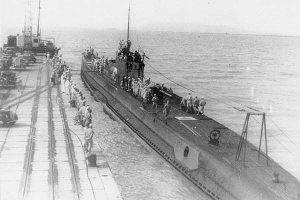 Japanese submarine I-10 that sank the SS Hartismere