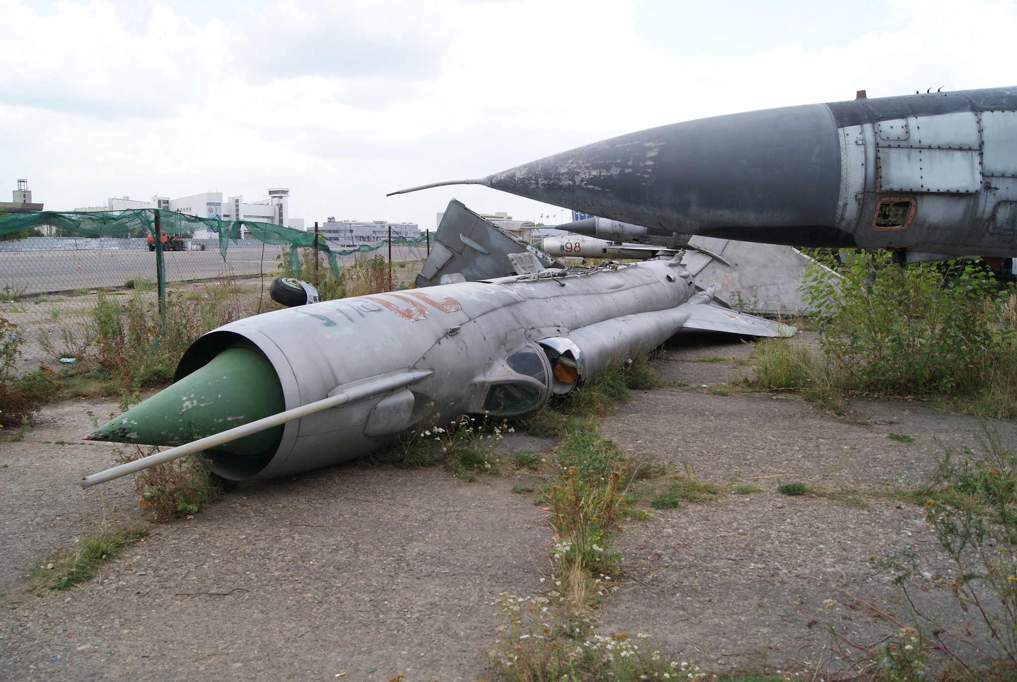 Mikoyan-Gurevich MiG-21 until recently was an intact plane. (Image Credit: Sergey Rodovnichenko, CC 3.0)