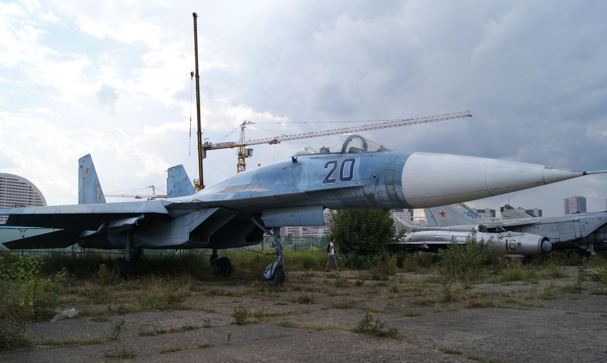 Sukhoi Su-27, reportedly a prototype. (Image Credit: Sergey Rodovnichenko, CC 3.0)