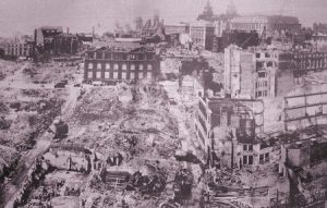 Liverpool blitz left a shattered city in its wake