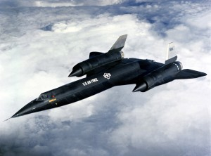 Lockheed A-12 with USAF Markings (Image Credit: USAF)