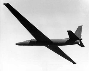 Glider-like design of the Lockheed U-2 allowed for extraordinary altitudes. (Image Credit: CIA)