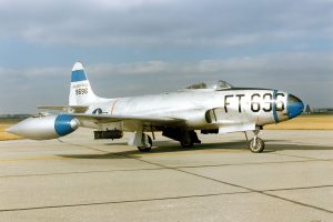 Lockheed F-80C, currently in the collection of the National Museum of the US Air Force (Image Credit: USAF)