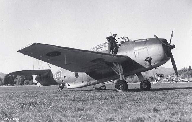 NZ2505 Upon delivery in 1943
