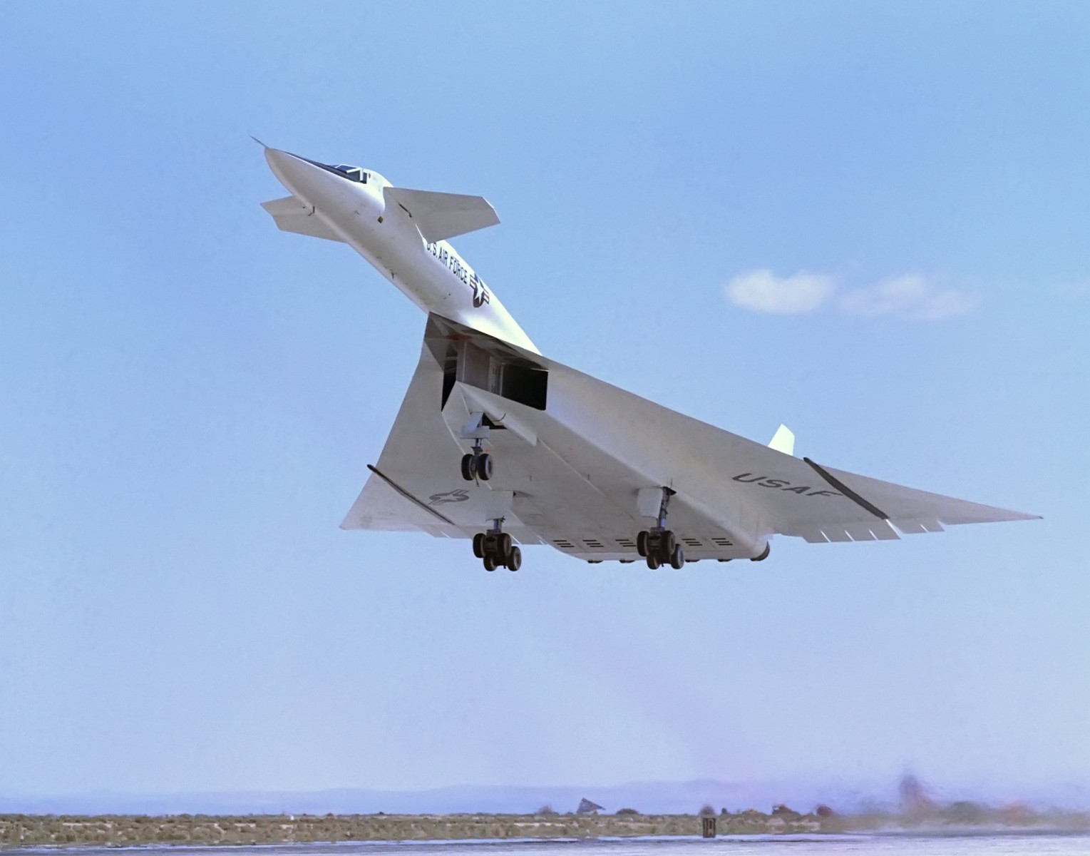189 foot Mach 3 monster, the North American XB-70 Valkyrie to become more accessible to museum visitors