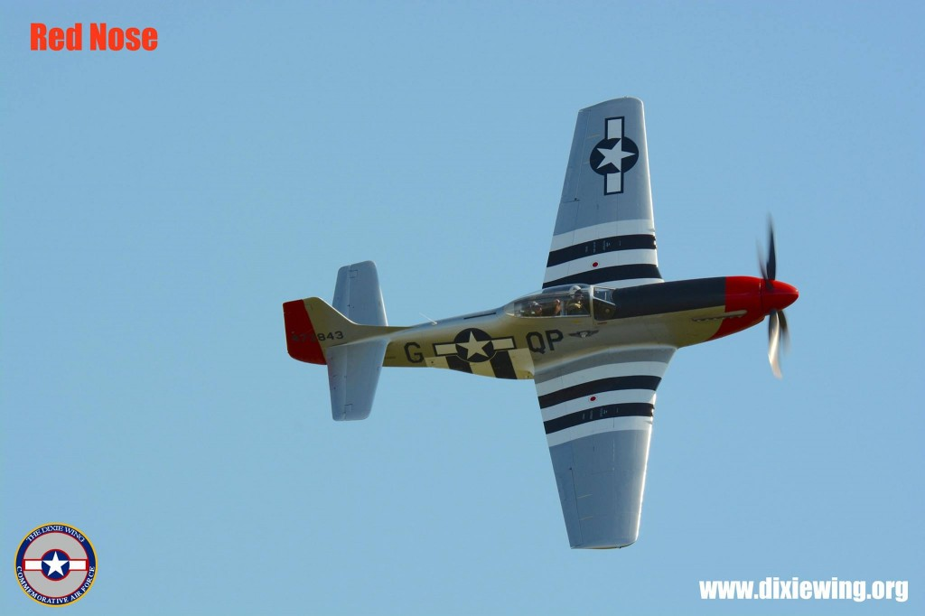 """Red Nose"" at Reading: The 2013 Mid-Atlantic Air Museum's WWII Weekend. (Image Credit: CAF DIxie Wing)"