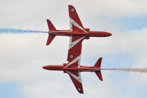 RAF Red Arrows precision flying team (Image Credit: RAFRA)