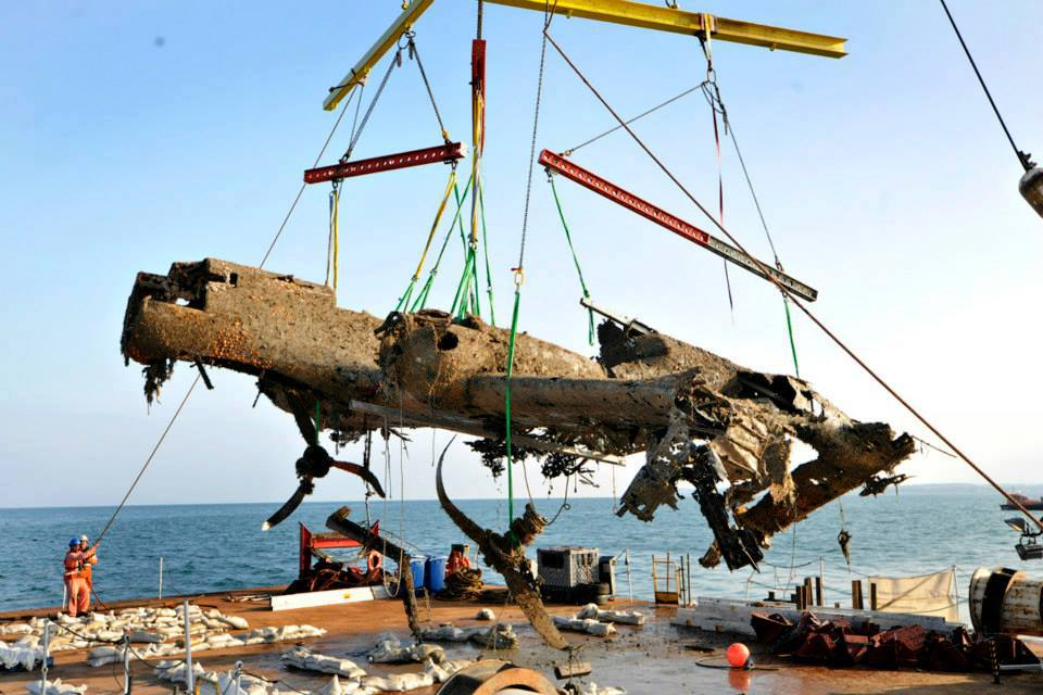 Dornier Do 17, remarkably intact after 70 years (Image Credit: Trustees of the Royal Air Force Museum)