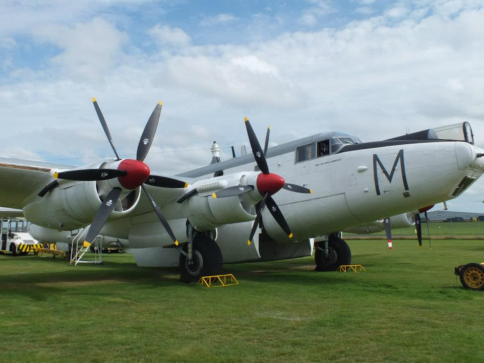 Shackleton Preservation Trust's Avro Shackleton MR.2, is planned to fly. (Image Credit: SPT)