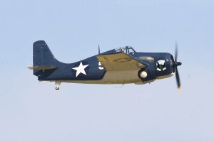 Texas Flying Legends Museum's FM2P Wildcat, an excellent restoration of the type. (Image Credit: TFLM)