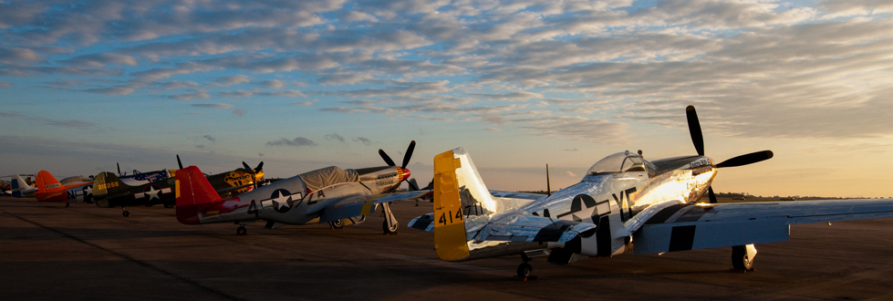 An instant air show wherever they land, Texas Flying Legends Museum's fleet is traveling the country this summer. (Image Credit: TFLM)