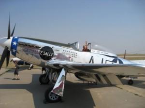 Texas Air and Space Museum's P-51 Mustang (Image Credit: TASM)