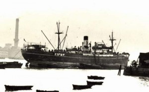SS Hartismere (Image Credit: Library of Contemporary History, Stuttgart)