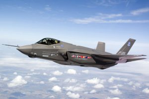 Lockheed F35 Lightning II Joint Strike Fighter in flight (Image Credit: Lockheed Martin)