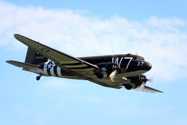 National Warplane Museum's C-47 (Image Credit: National Warplane Museum)