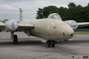 Now a parts plane, XH135 on static display at 2010 Cotswold Air Show. (Image Credit: Alan Howell)