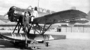Nubuo Fujita and his Yokosuka E14Y