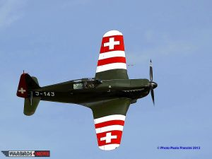 Morane-Saulnier M.S.406 variant  D-3801 in its original Swiss Air Force Livery (Image Credit: Paolo Franzini)