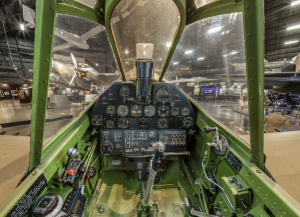 P-40 Warhawk Cockpit (Image Credit: NMUSAF)