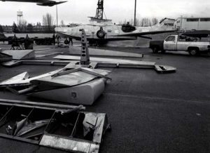 Catalina upon arrival at McChord in 1988 (Image Credit: McChord Air Museum)
