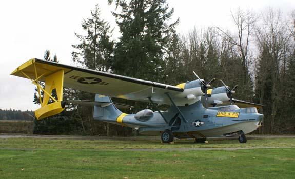 McChord Air Museum's award-winnig Catalina restoration (Image Credit: McChord Air Museum/ Ernie White)