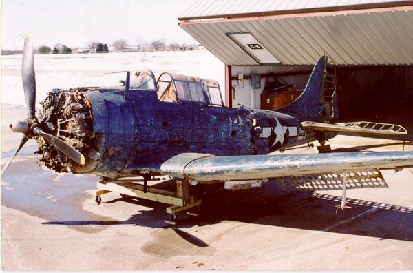 Douglas SBD-4 Dauntless In 1994 (Image Credit: Vultures Row Aviation)