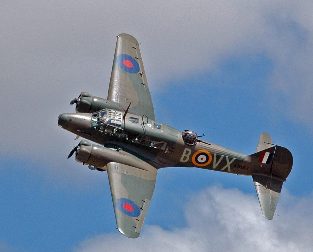 Airworthy Avro Anson Mk I Confirmed for Warbirds Over Wanaka 2014 (Image courtesy of Warbird Over Wanaka Airshow)
