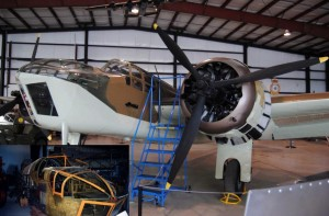 Meticulously-restored farm-rescued Bristol Blenheim. Inset: Pre-restoration (Image Credit: Bomber Command Museum of Canada)