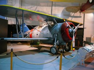 Grumman F3F-2 replica (Image Credit: Ad Meskins/ CC 3.0)