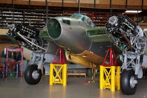Another airworthy Mosquito takes shape. (Image Credit: Victoria Air Maintenance, Ltd.)