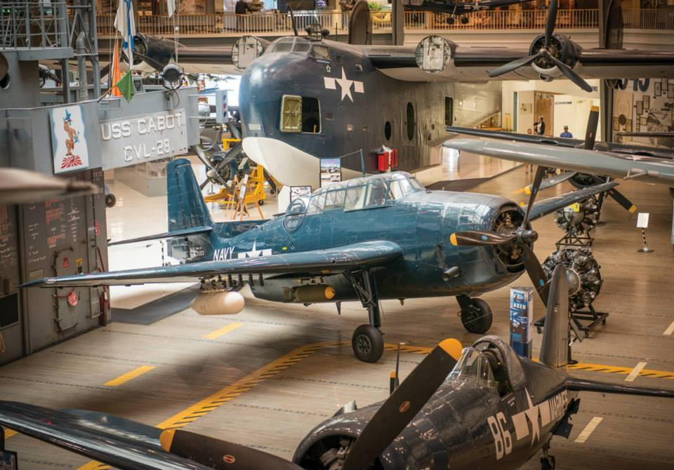 Take a non-virtual tour through the world's largest naval aviation museum. (Image Credit: National Naval Aviation Museum)
