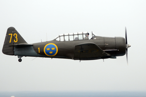 Sk 16 Mk2 (Harvard/Texan) (Image Credit: SwAFHF)