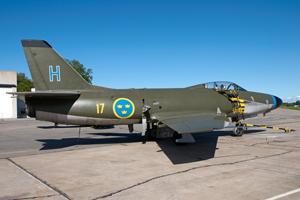 SwAFHF Saab 32 Lansen (Image Credit: SwAFHF)