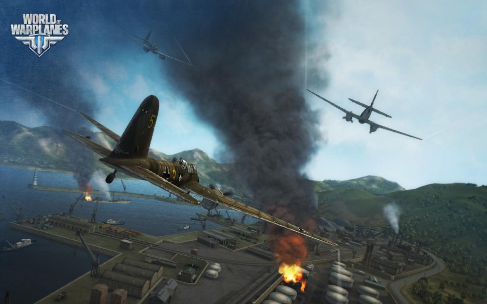 Actual Screenshot from World of Warplanes. (Image Credit: World of Warplanes)