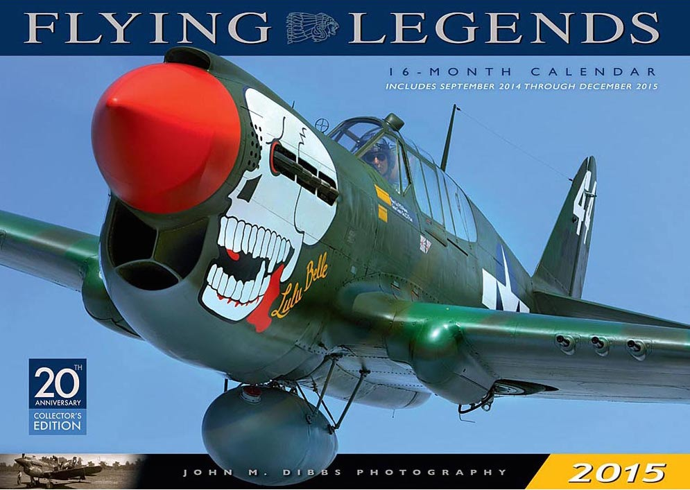 2015 Flying Legends Calendar