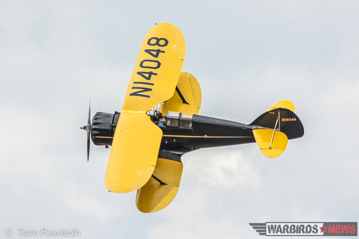 John Ricciotti's magnificent 1934 WACO S3HD. (Photo by Tom Pawlesh)
