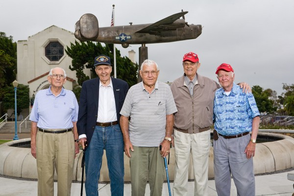 Members of the 492nd BG at the 2012 reunion (photo via Alex Mena)