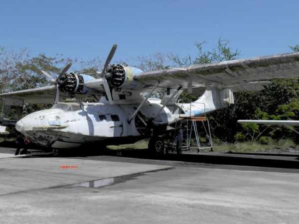 This is how the Catalina looked like when it was acquired in Porto Rico ( (image credit  RCMPA)