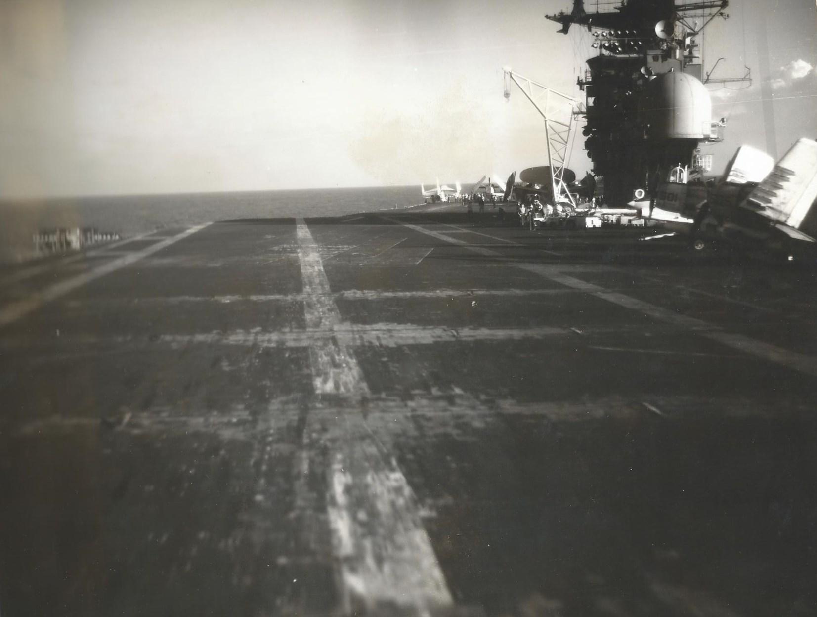 Trapping aboard of the SS Oriskany – nicknamed Mighty O.