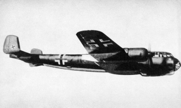 Photo of a German Dornier Do 217E-2 bomber, ca. 1942 ( Image credit U.S> Navy)