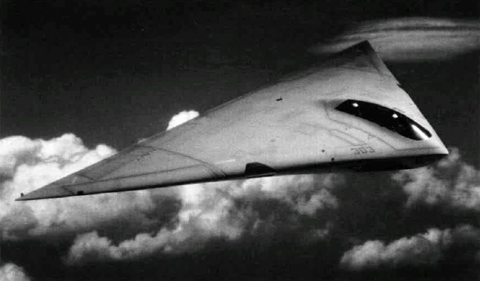 An artist's concept of what an operational A-12 would have looked like. (image via wikipedia)