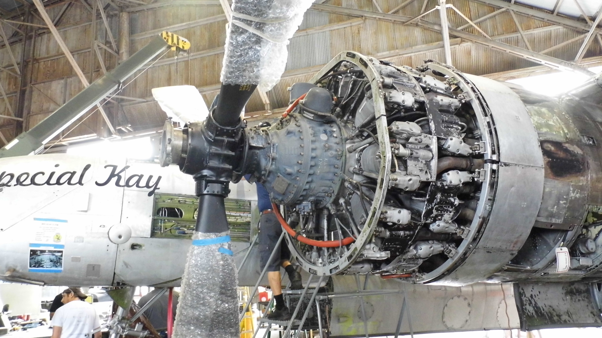 "A-26A ""Special Kay"" restoration_engine"