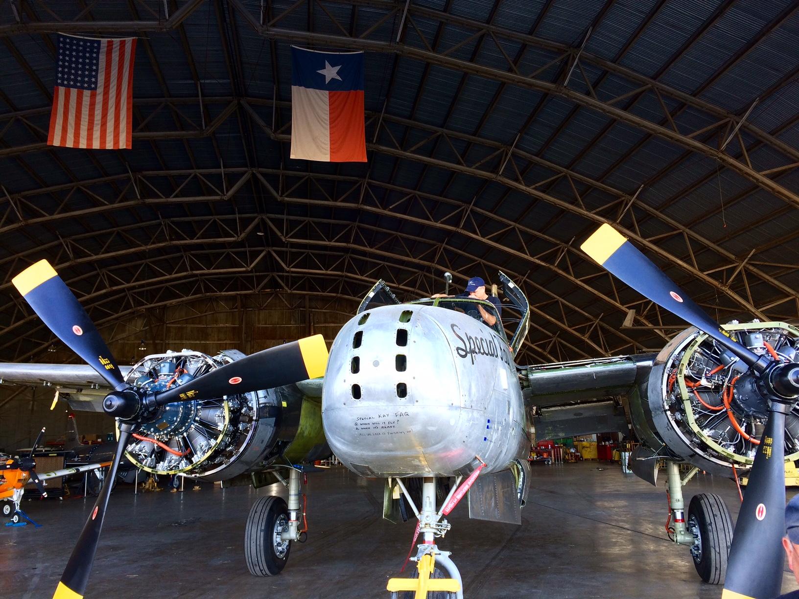 "A-26A ""Special Kay""_hangar"