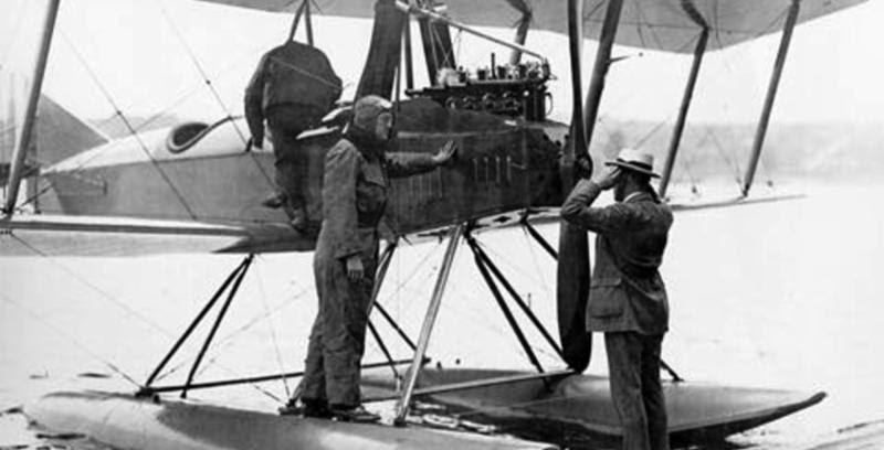 A floatplane version of the Boeing Model C designed by Wong Tsoo in 1916.