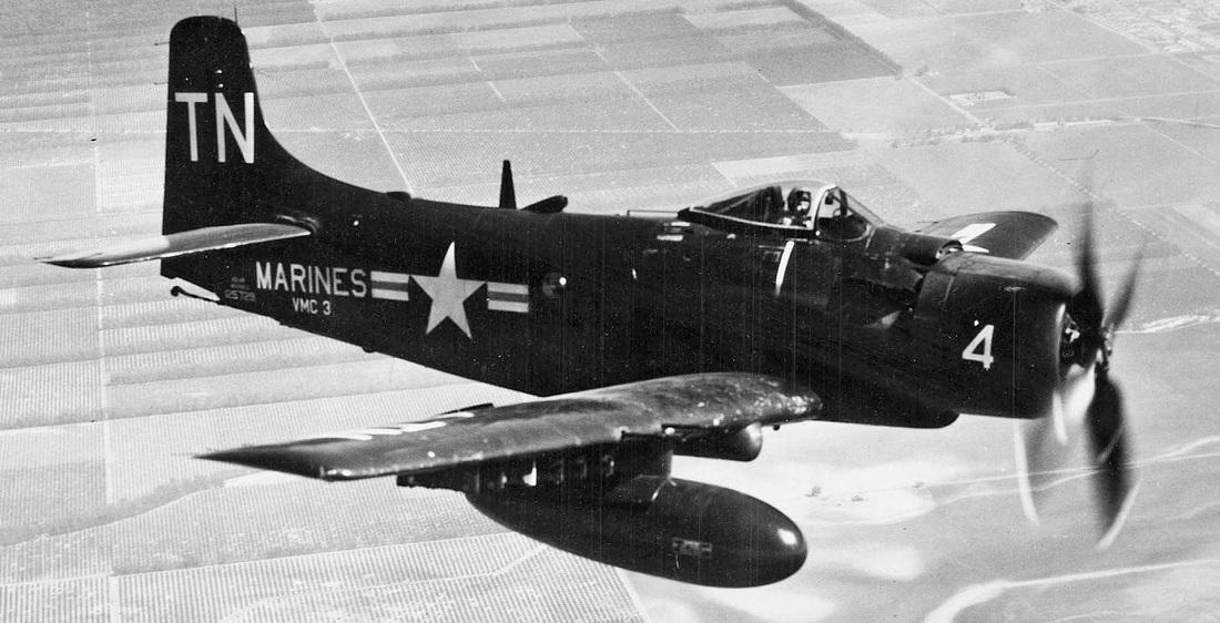 AD-4 Skyraider (BuNo-128988)