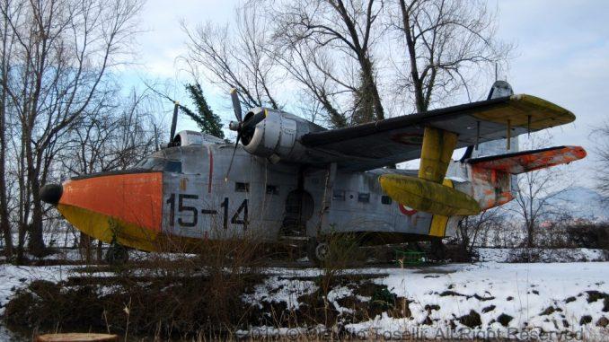Ex-Italian Air Force Grumman Albatross Destroyed in Italy