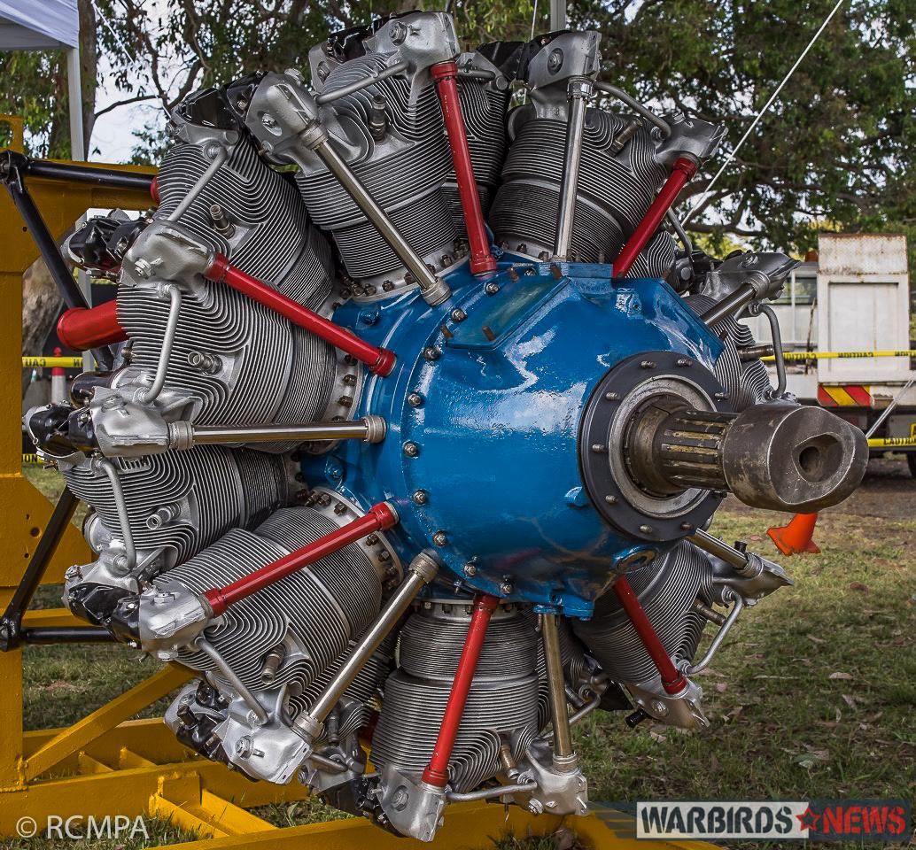 The restored port engine. (photo RCMPA via Phil Buckley)