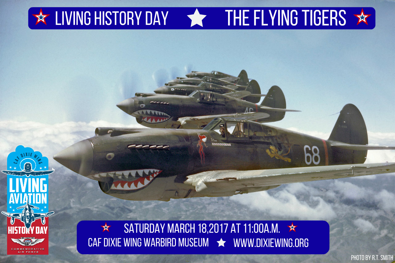 AVG Flying Tigers in Formation on May 28, 1942_Photo taken by pilot R.T. Smith_Copyright by R.T.Smith _800KB